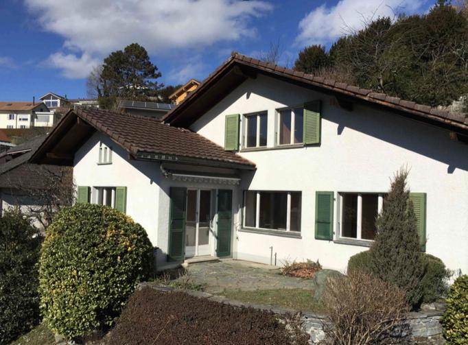 Einfamilienhaus in Stettlen