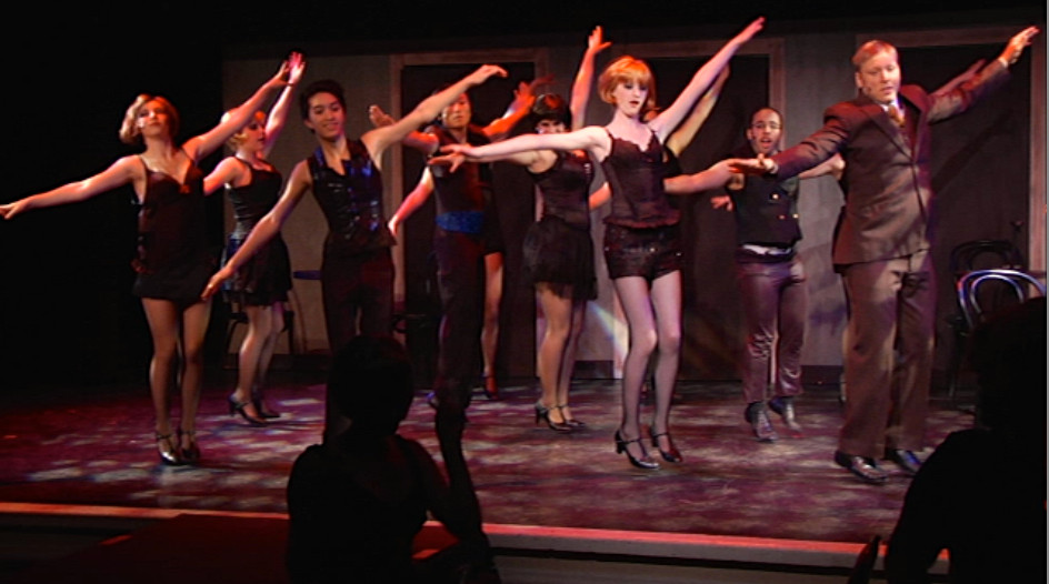 Cabaret dress rehearsal. ©2014 First Pictures.  All rights reserved.