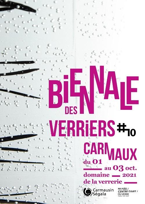 Biennale des verriers | 1er au 3 octobre 2021 | Carmaux (81)