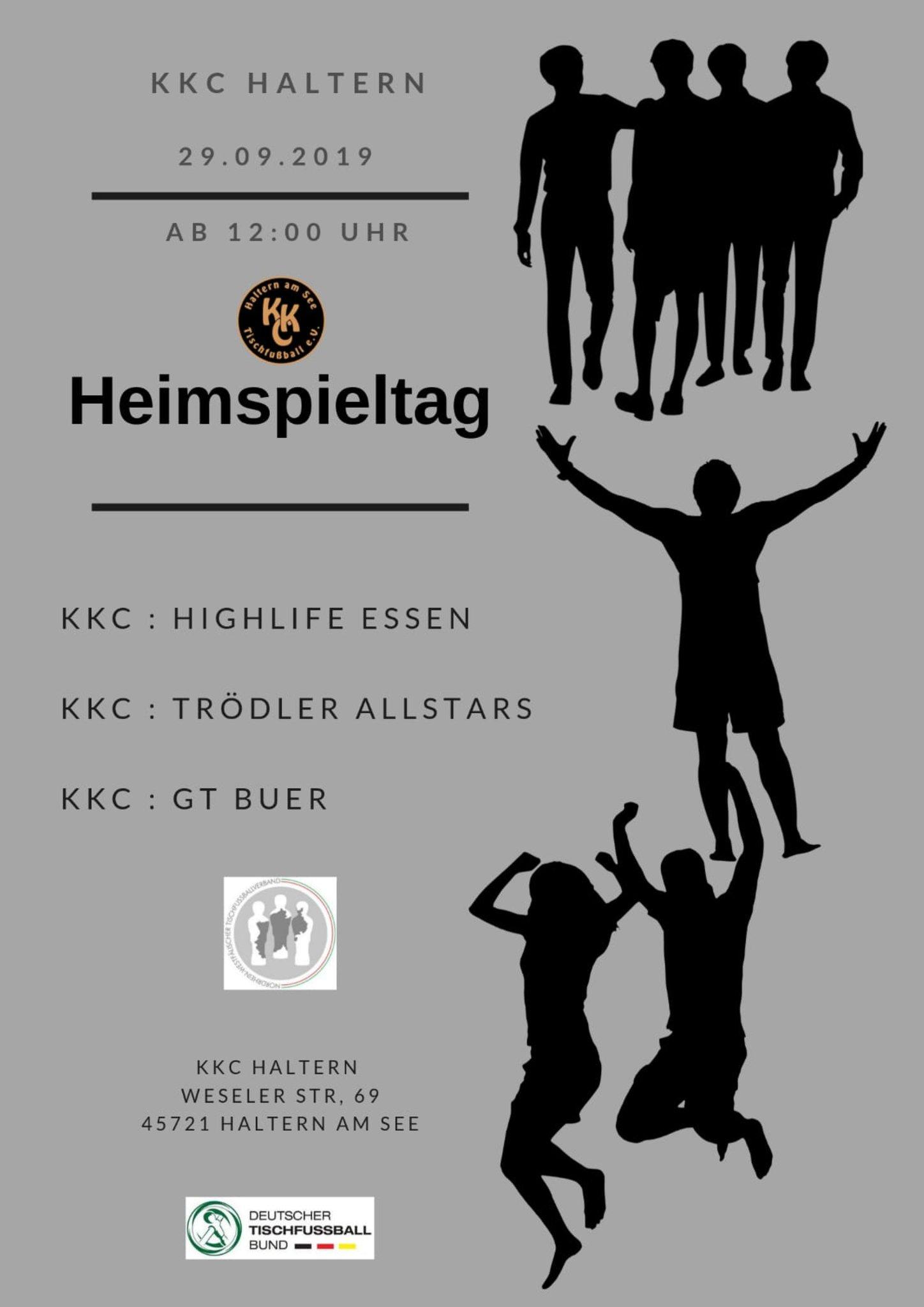 Heimspiel des KKC am 29.09.2019