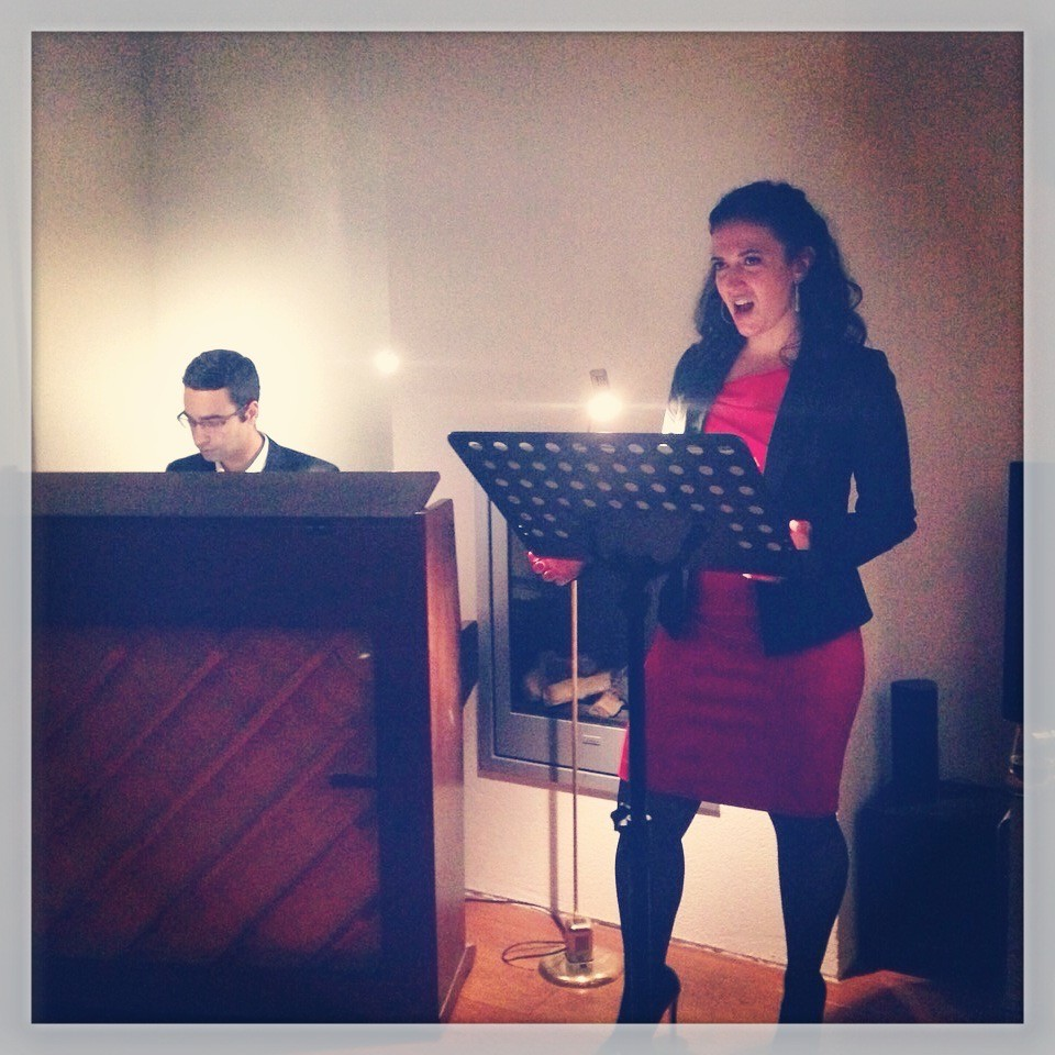 Duo Vert Obscur private concert