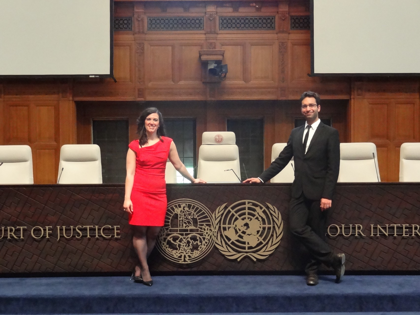 "Opening ""V Iberoamerican week of International justice"""