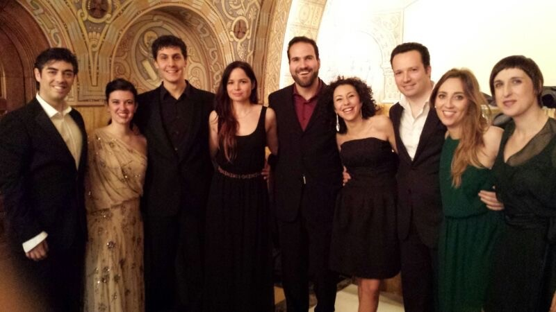 Barcelona Opera Studio - Cosí van Tutte cast'14