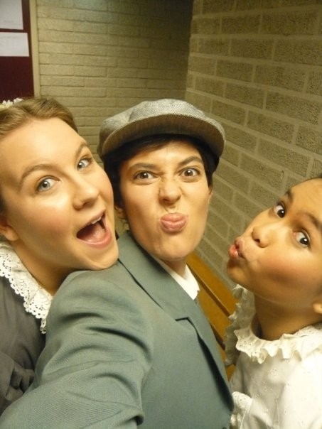 """Harry"", DNOA Albert Herring'10 - Back stage"
