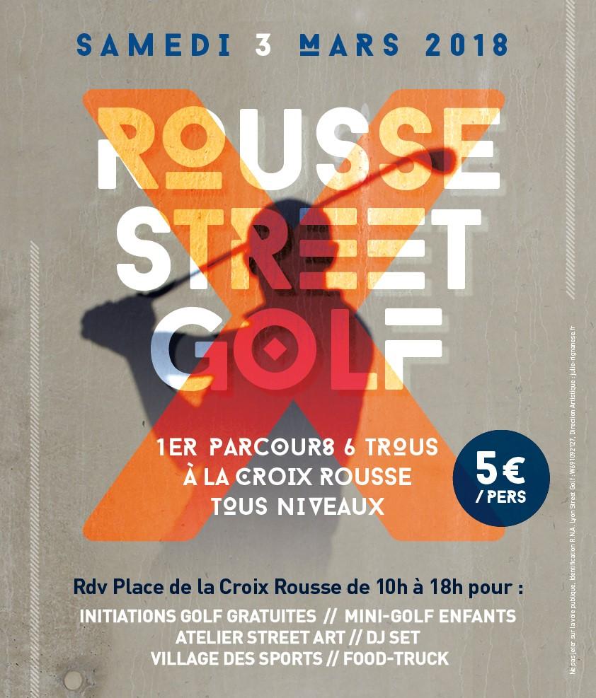 Croix-Rousse lyon street golf