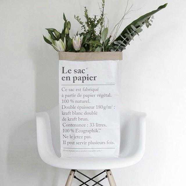 plantes sac papier be pôles