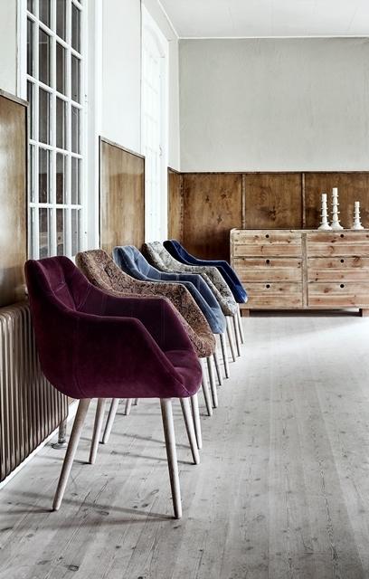 Nordal, chaises Velvet