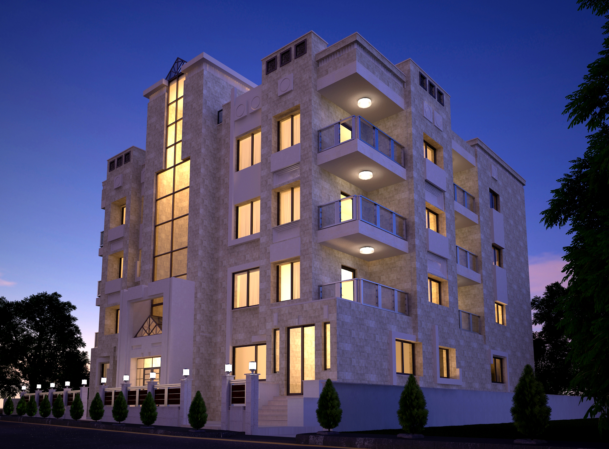 Private family Building - Amman