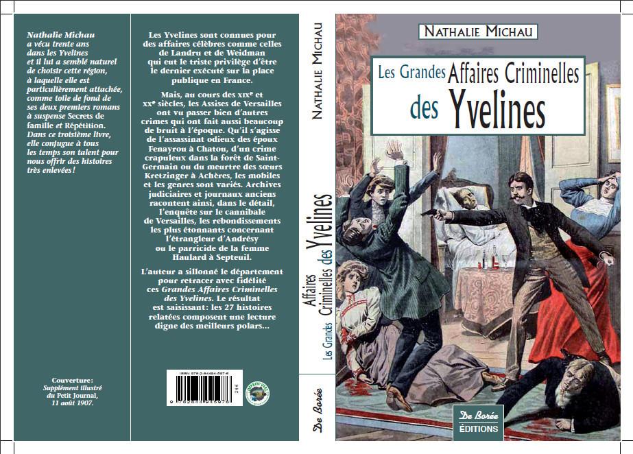 Les grandes affaires criminelles des yvelines - 1ere edition - 2007 -