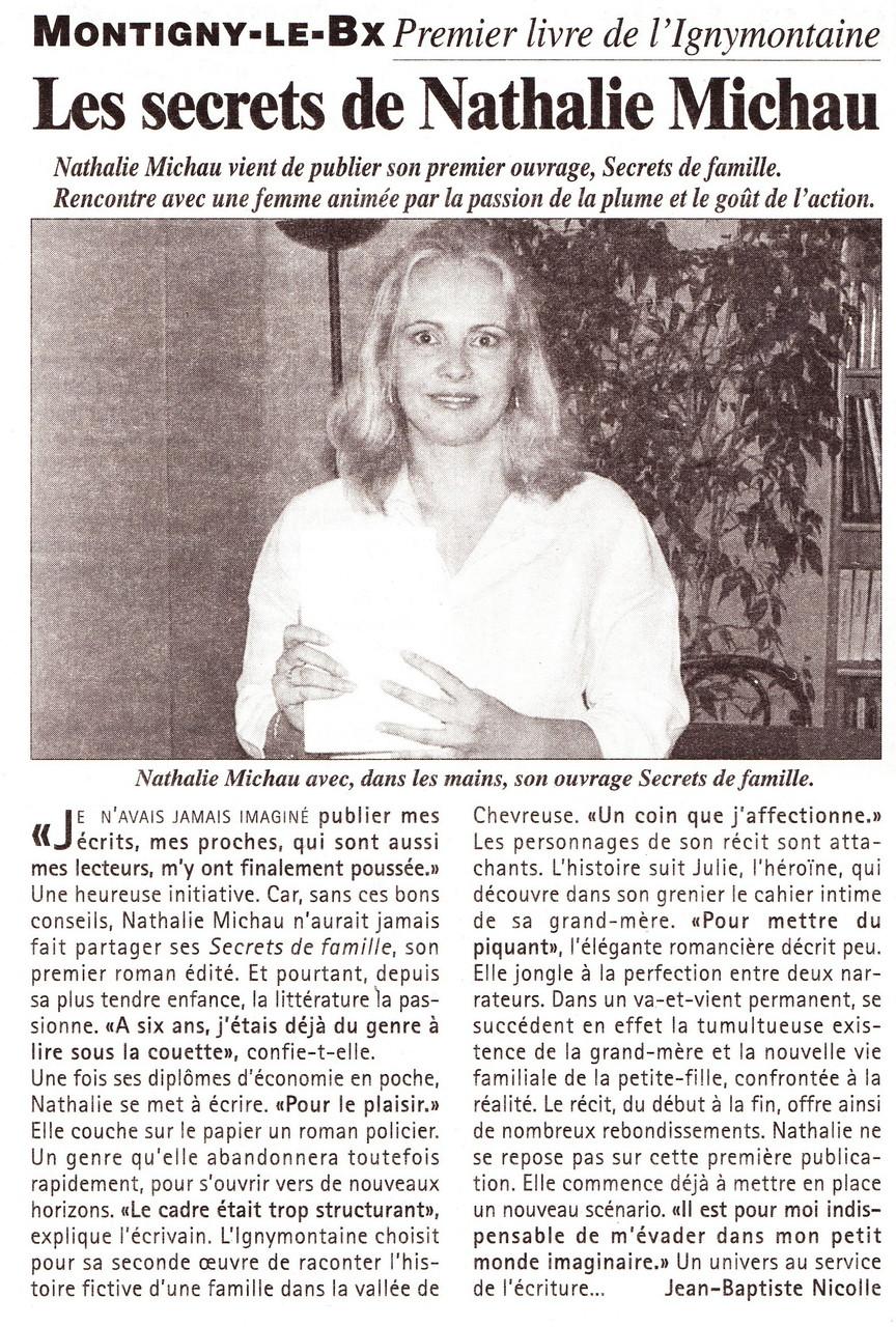 Toutes les Nouvelles - Avril 2004