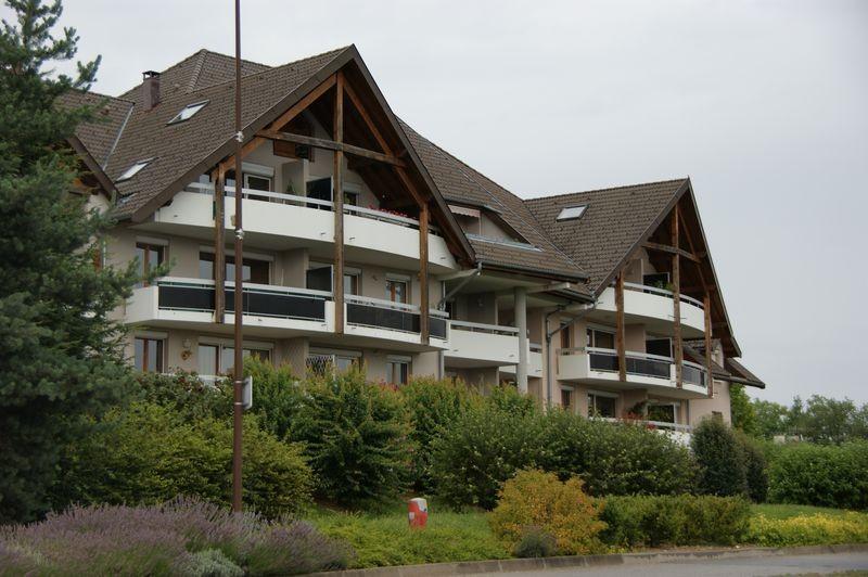 L'appartement de Jérôme est situé entre la LMD et la maison de sa mère à Poisy