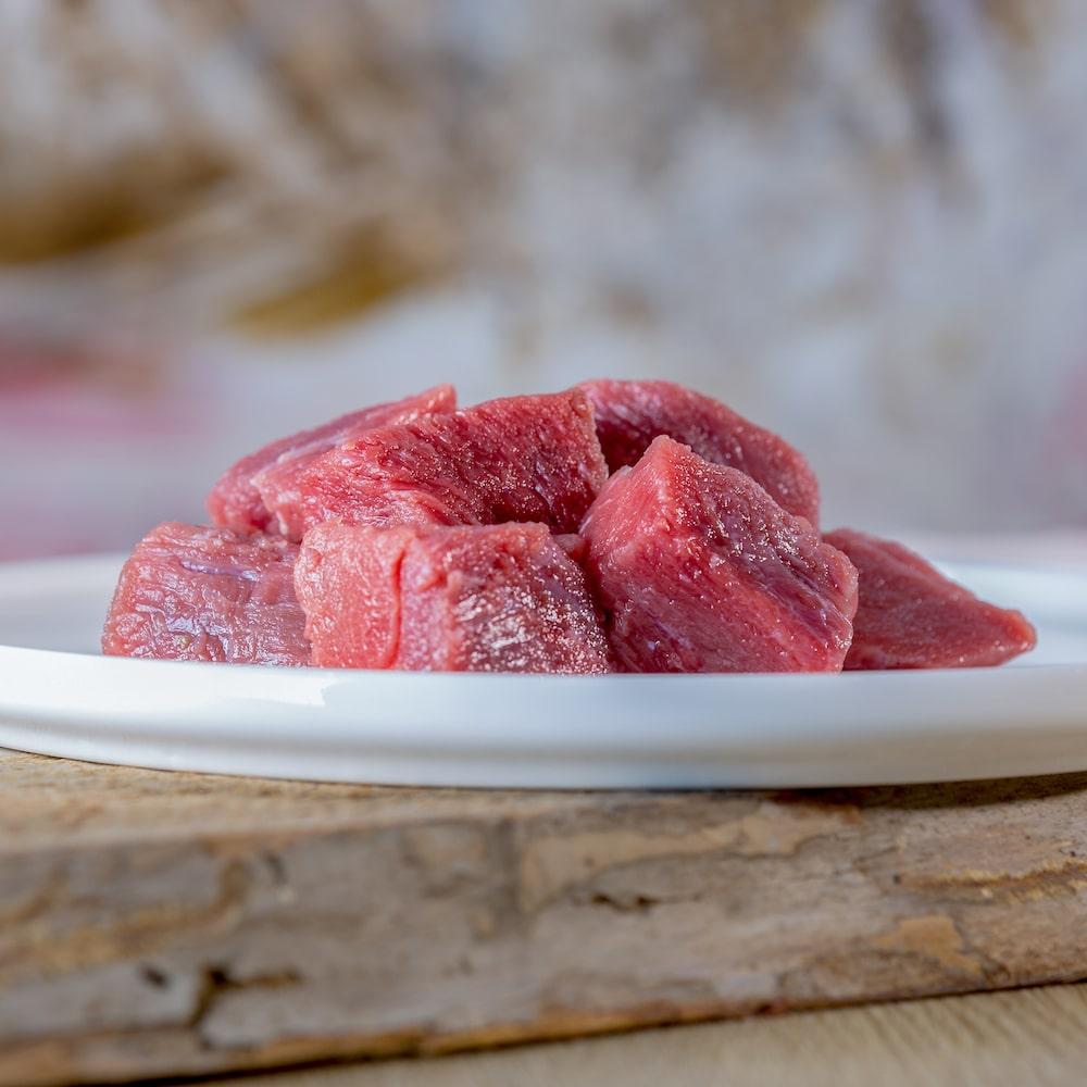 Rindermuskelfleisch mager 1000g