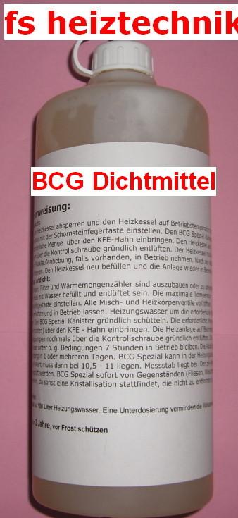 Relativ BCG Dichtmittel Spezial, BCG 30E, BCG F, BCG 24, BCG Abfluss CQ08