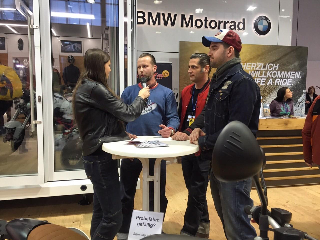 Motor Circus bei BMW auf der BMT