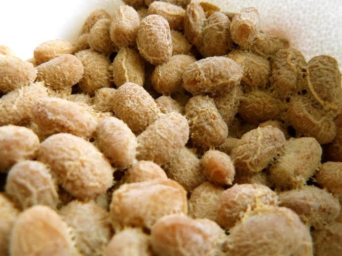 <現在>アメリカ産の良質なオーガニック大豆を使った手作り納豆