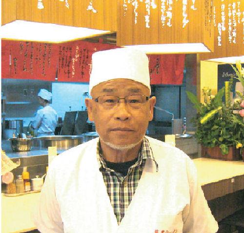 筑豊ラーメン山小屋創設者、緒方正年会長