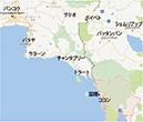 タイーカンボジアの地図