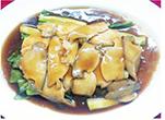 グレート上海のあわびのオイスターソース炒め