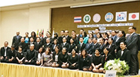 高齢化対策セミナーに参加した各国の関係者