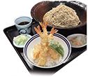 あずまの海老天丼セット