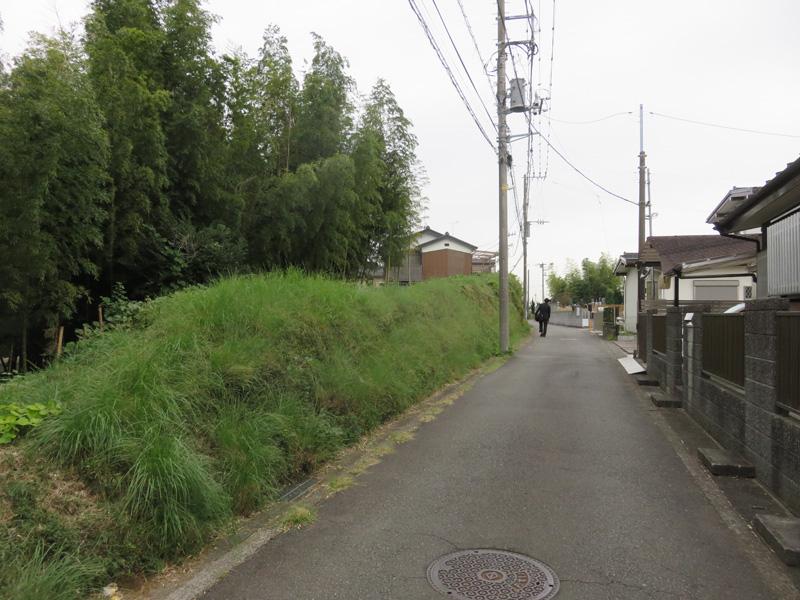 3.左は牛久保東の斜面緑地