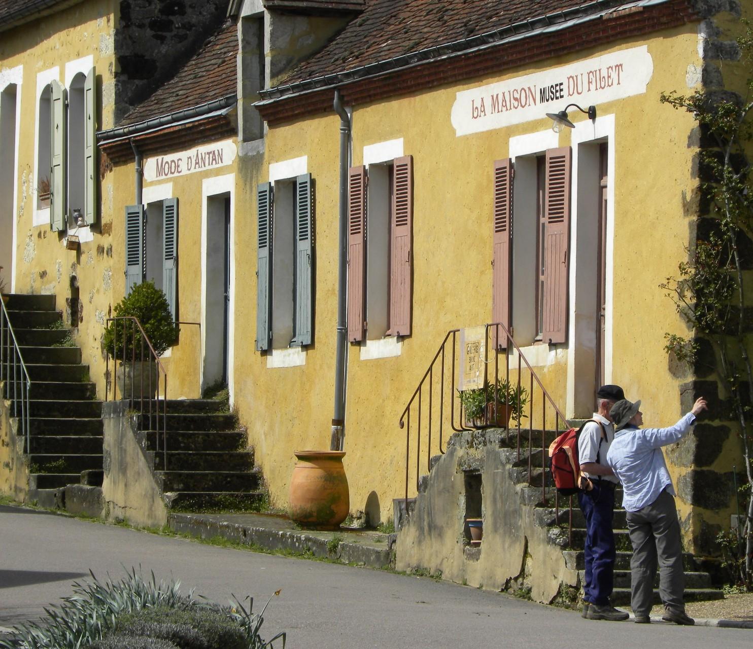 Les maisons typiques de La Perrière