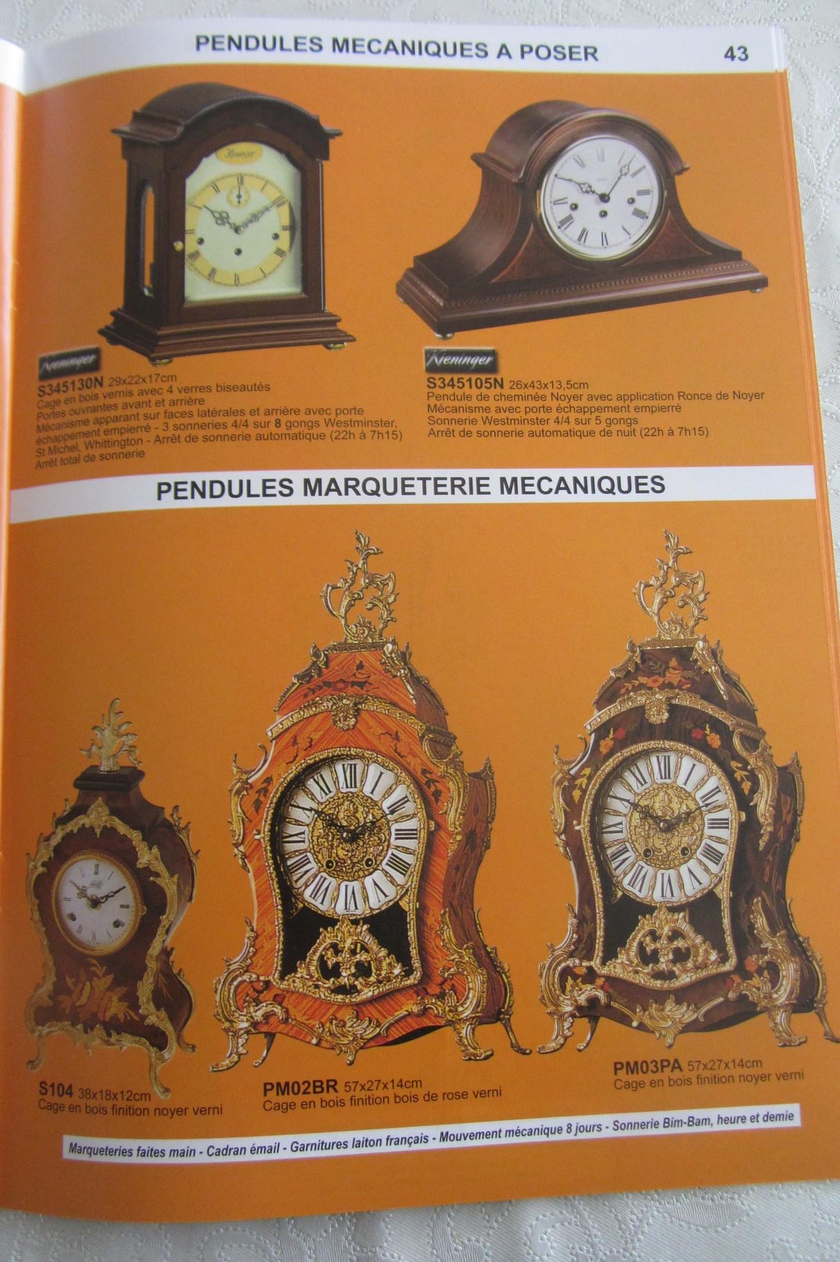 Pendules Et Reveils En Vente Dans Mon Magasin Horloger Bijoutier
