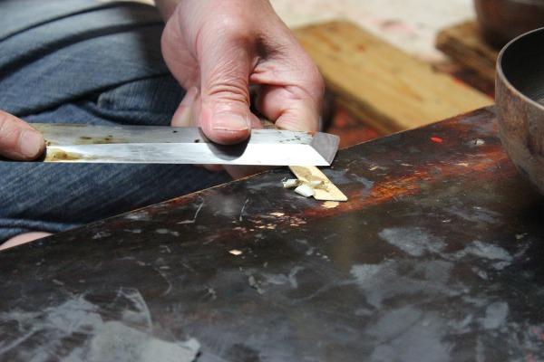 塗り師の道具