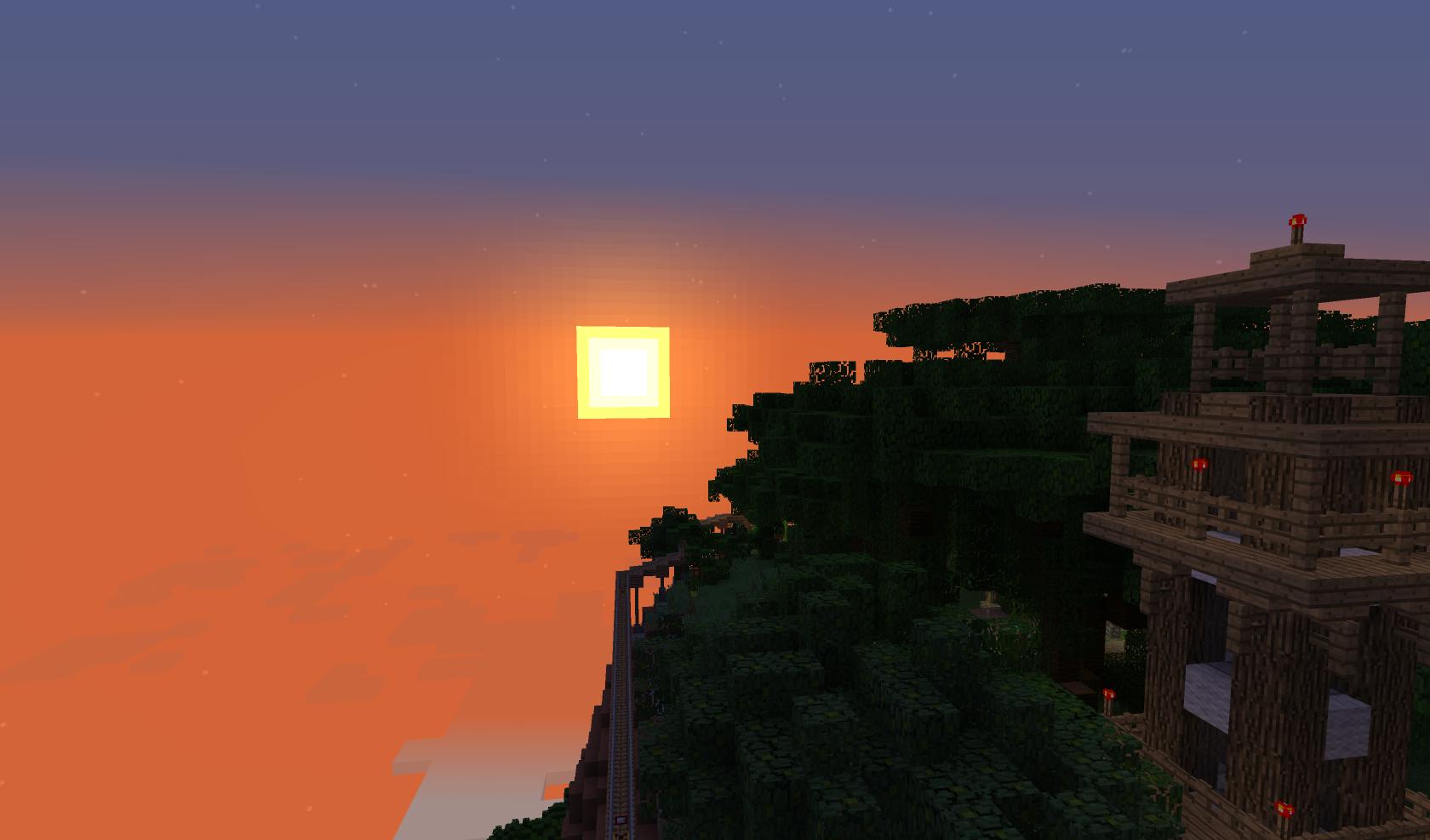 Über den Wolken geht die Sonne auf. Das ist Königsstein.