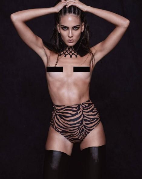 Daniela Botero for Rolling Stone Colombia Mag stylist Jenna De Brino ph David Benoliel