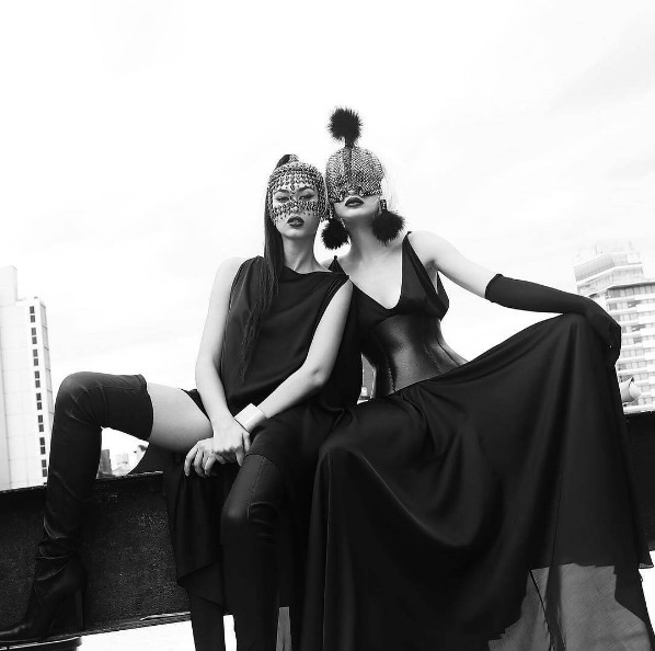 Adrola Dushi - Xhesika Berberi stylist Kevin Kelly  Blair Berisha ph Fadil Berisha
