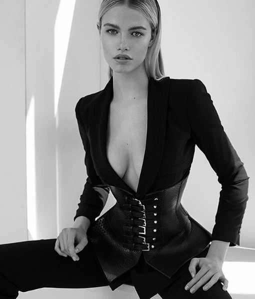 Hailey Clauson styled by Jahulie Elizalde ph Aceamir