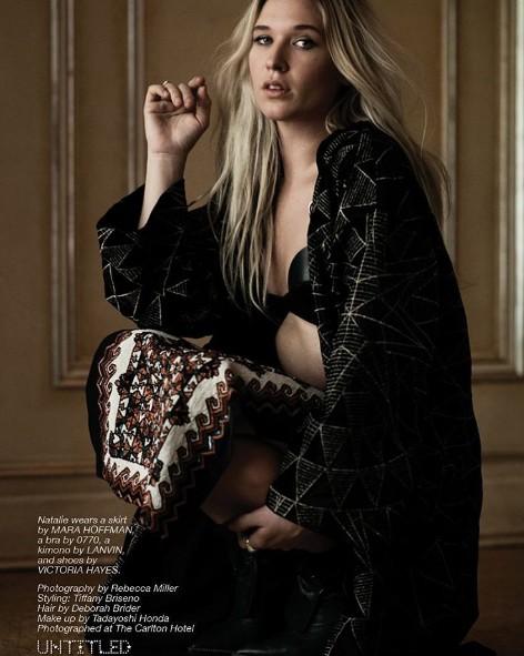 Wild Belle for Untitled Magazine ph Rebecca Miller