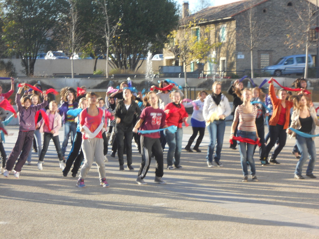 flash mob telethon 2011 2/3