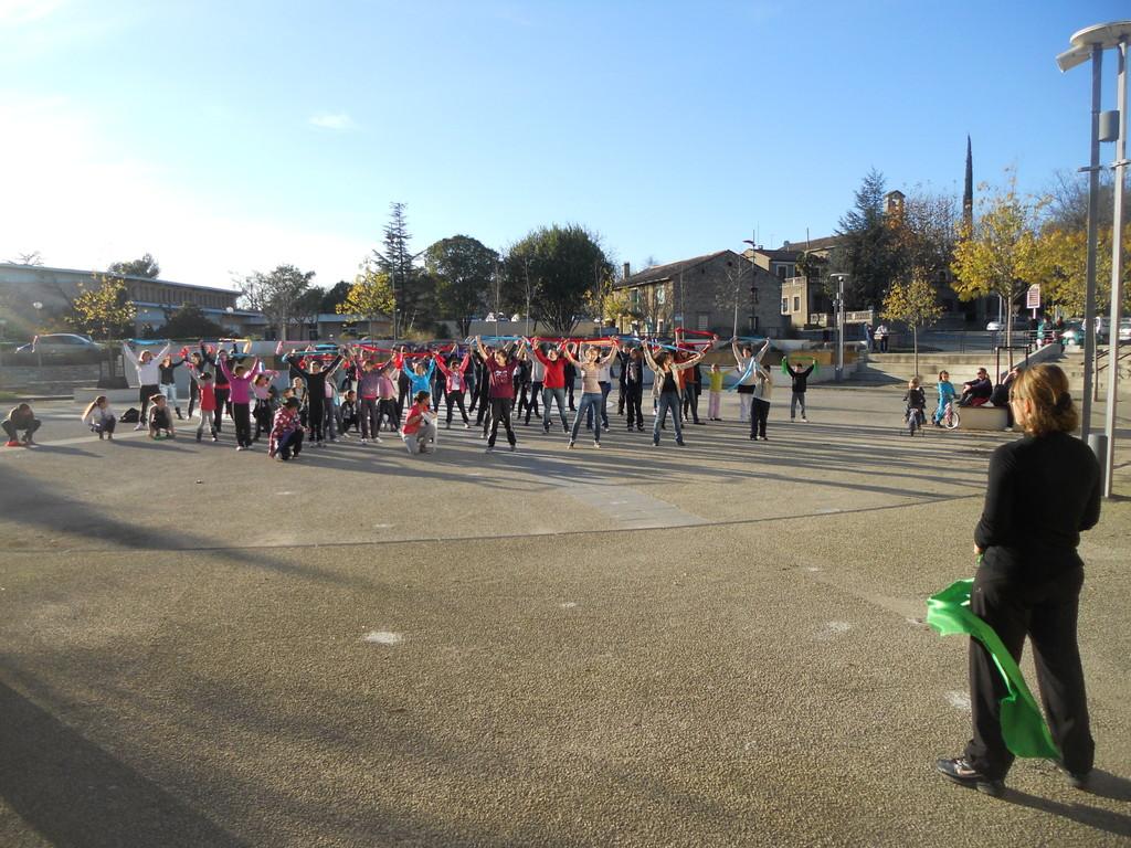 flash mob telethon 2011 1/3