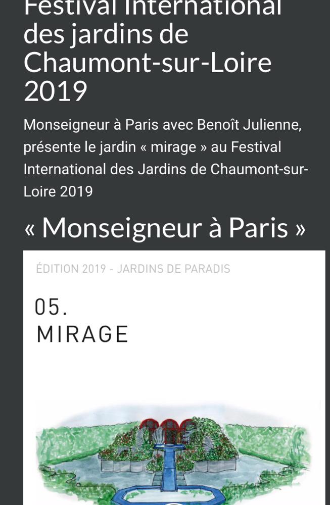 Chaumont-sur-Loire : 2019 International Garden Festival