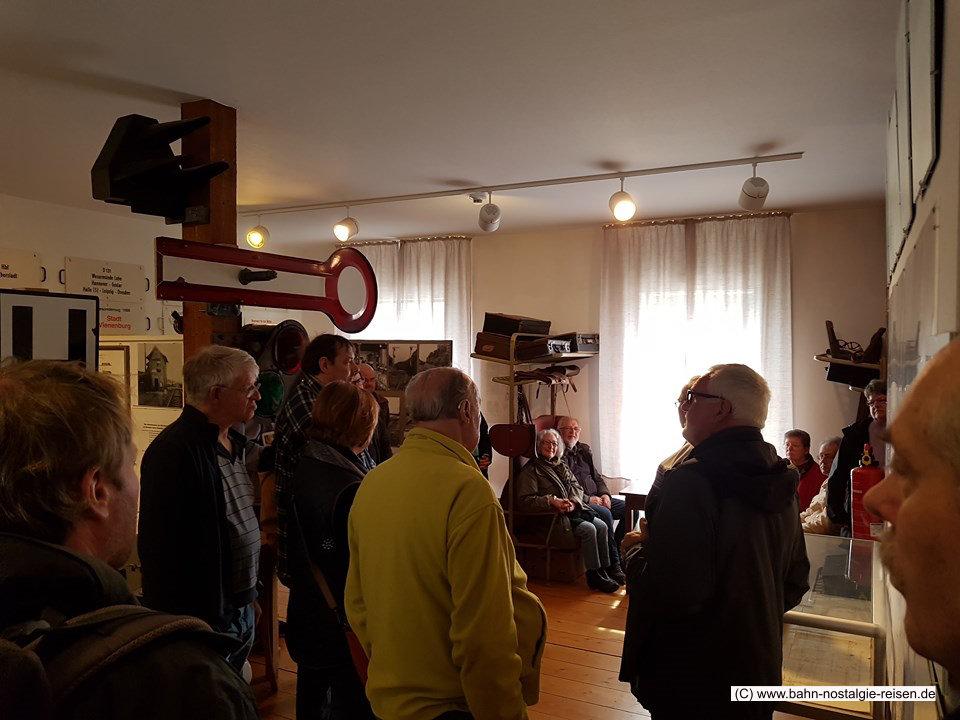 Im Eisenbahnmuseum Vienenburg