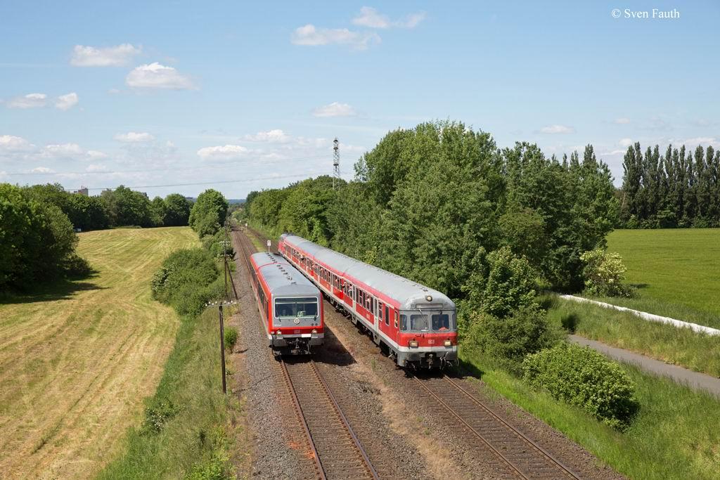 Stahlstadtexpress - die letzte Ehre für 218 447-1 / Rückblick