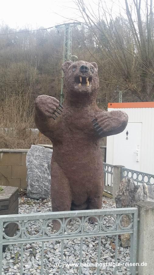 Die Bären einst in Rübeland