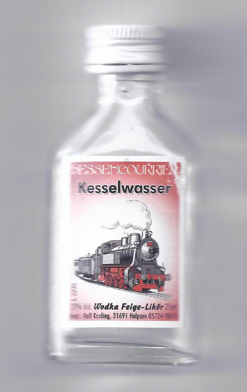 Das Kesselwasser Wodka-Feige