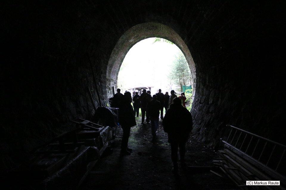 Begehung vom Tunnel der ehemaligen Innerstetalbahn