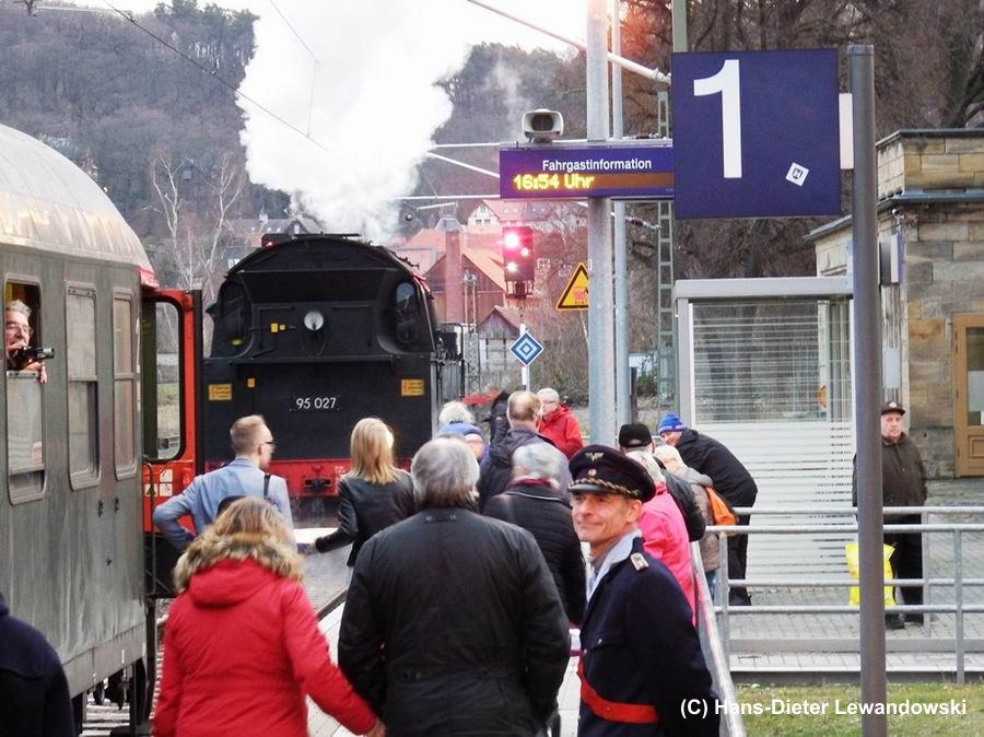 Ende der Veranstaltung - Bahnhof Blankenburg