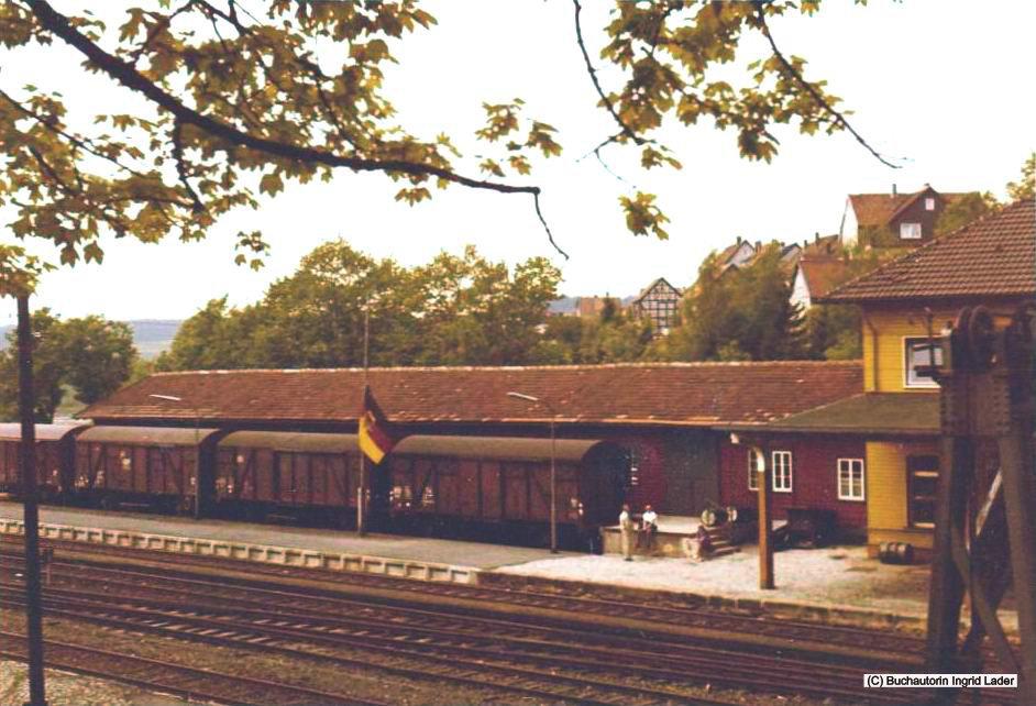 Bahnpostbetrieb auf der ehemaligen Innerstetalbahn im Oberharz