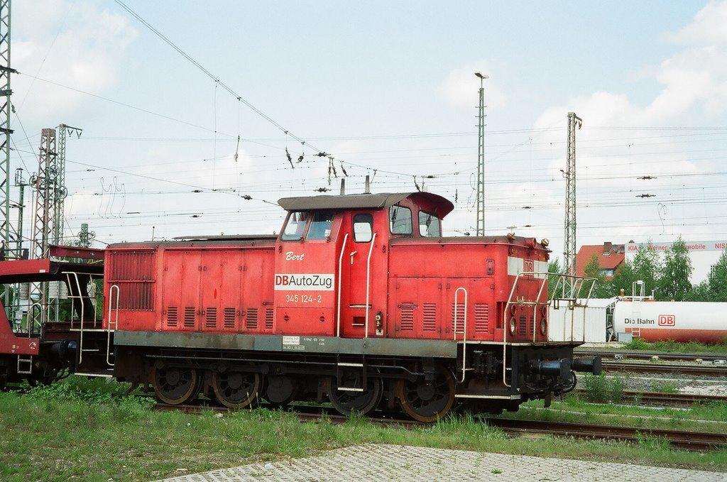"""Ehemalige Rangierlok """"Bert"""" von """"DB Autozug Hildesheim"""" - """"Bert"""" ist seinem Dasein in Berlin erlegen!"""
