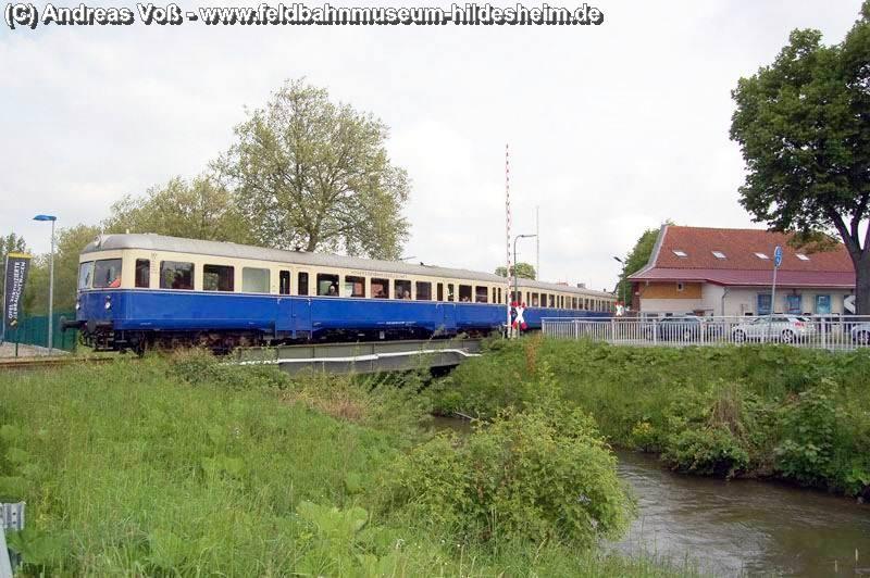 Bahnübergang in Bockenem - ehemaliger Schrankenposten 55