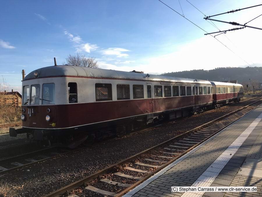 Sonderfahrten mit dem Esslinger Triebwagen