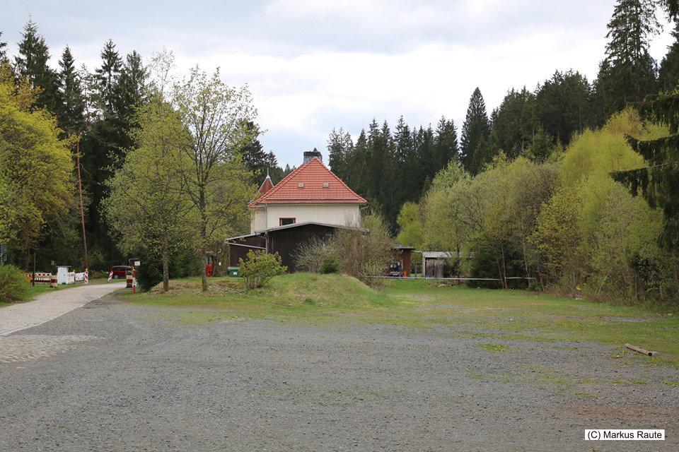 Rückkehr am Alten Bahnhof Altenau