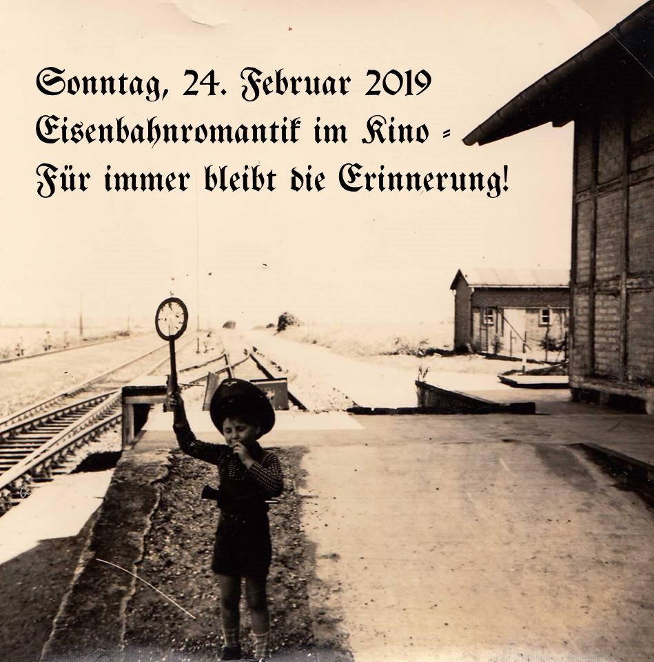 Eisenbahn-Romantik im Kino / Rückblick