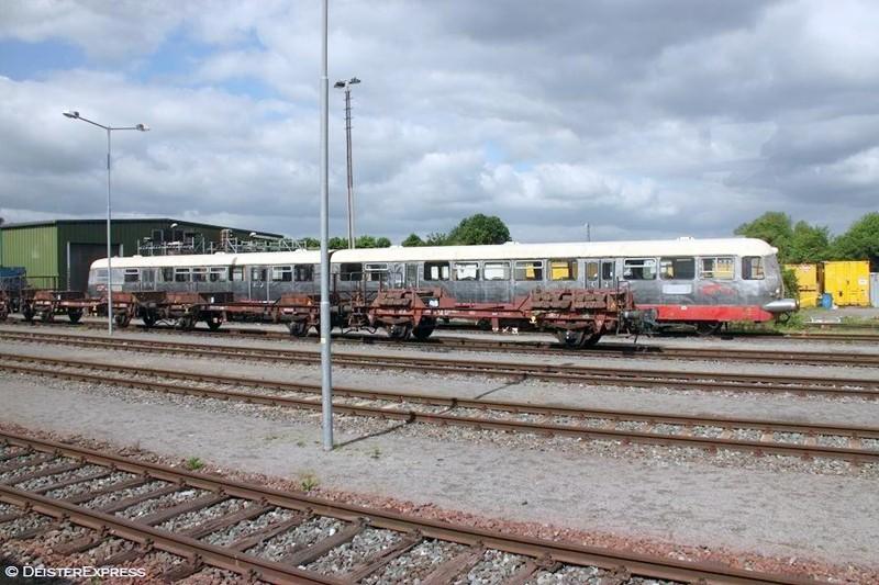 Ein Highlight: der Hüttenflitzer VT 40 901, re-importiert aus Italien
