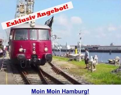 Moin Moin Hamburg - Hamburg einmal anders erleben!